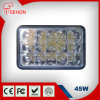 6.5 pollici 45W LED Headlight con H4 Plug Square