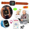 montre de traqueur des adultes GPS du WiFi 3G avec le bouton de SOS