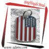 Pendente superiore della collana della gente della modifica di cane della bandiera americana