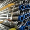 Galvanized Caldo-Dipped Round Steel Pipes con Threaded Estremità