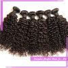 Tessuto riccio crespo brasiliano riccio crespo dei capelli umani di Remy del Virgin