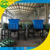 Plástico/madeira/papel resistente industrial/planta dobro do Shredder do eixo
