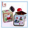 Il Babbo Natale, stagno del pupazzo di neve inscatola il contenitore di caramella delle decorazioni di natale