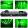 Verde profesional de la iluminación del laser