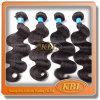 Естественный Weave человеческих волос 2015, человеческие волосы Weft, бразильское выдвижение девственницы человеческих волос