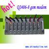 8 Kanal G-/Mmodem für das Senden und das Empfangen der Mitteilung ---Q2406-8