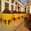 Molino mojado de la amoladora de la cacerola para la selección del mineral del oro