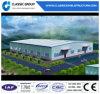 Entrepôt de structure métallique avec l'installation efficacement