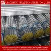 Tubulação de aço galvanizada andaime com certificado do ISO