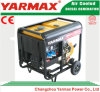 Yarmax空気によって冷却される単一シリンダーディーゼル機関の開いたフレームのディーゼル発電機セットGenset Ym7500ea