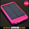 5000mAh 휴대용 셀룰라 전화 건전지 태양 이동할 수 있는 충전기
