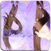 Cutícula llena Virgen Rojo Color de cabello humano recto (loks-lgq739)