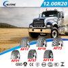 放射状のトラックのタイヤ、点と、E-MARK、ECEの点の範囲のGCC (12.00R20)