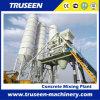Planta de procesamiento por lotes por lotes concreta mezclada mojada y seca de la máquina 35m3/H de la construcción