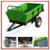 Opgezette Aanhangwagen van de As van het Landbouwwerktuig de Enige Tractor