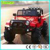 Kind-elektrischer Jeep, Baby-Fahrt auf Spielzeug-Auto, scherzt Auto