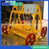 Machine de fabrication de brique concrète manuelle mobile de Qmy4-30b