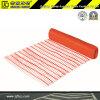 clôture provisoire d'avertissement de 1.2m de protection orange de sécurité dans la construction (CC-BR-09026)