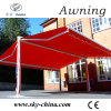 Toldo retractable derecho libre motorizado popular