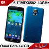 Nouvelles S5 Mtk6592 Octa Core téléphones cellulaires Online de 1.7 gigahertz Waterproof 4D Air Gesture Cheap à vendre
