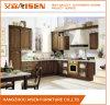 Modulare personalizzare l'armadio da cucina di legno scuro di legno solido di colore