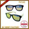 Óculos de sol de bambu polarizados Handmade da alta qualidade Fx29 a mais atrasada