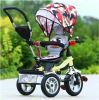Graden Met drie wielen van de Omwenteling van de Baby van de Wandelwagen van de baby 360