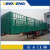 중국 Factory 40tons Payload 세 배 Axle Fence Semi Trailer