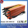 3000W 24V gelijkstroom aan 110/220V AC Pure Sine Wave Power Inverter met Charger