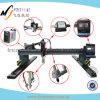 Type bon marché machine de portique des prix de découpage de plasma de commande numérique par ordinateur