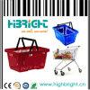 Panier à provisions en plastique de la meilleure qualité de 22 litres pour le marché du Trinidad