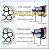 Câble auto-bloqueur d'alliage d'aluminium d'OEM Amored