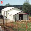 耐久のプレハブの鉄骨構造の倉庫