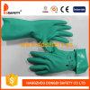 Ddsafety 2017 перчаток безопасности тумака зеленой индустрии нитрила беспрокладочных прямых