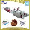 Perfil decorativo de la tarjeta del panel de techo del PVC del plástico que hace el estirador de la máquina