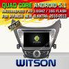 Coche DVD de la versión del androide 5.1 de Witson para Hyundai Elantra/I35/Avante 2010-2013 (W2-F9558Y)
