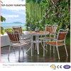 Все погоды Polywood для напольного сада штабелируя металл обедая стулы в трактире бистро патио (TG-1292)