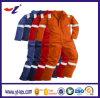 Combinaison ignifuge pour des vêtements de travail de sûreté avec les bandes r3fléchissantes