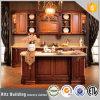 Gabinete de cozinha de madeira resistente da água para Poject
