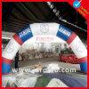 arco gonfiabile del PVC di 4m con stampa di marchio