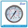 Calibrar-Manómetro de la presión de los Ss con el calibrador de presión llenado Abrazadera-Líquido de U