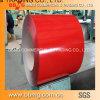 Hdgi/Gi Caliente-Sumergió la hoja de acero galvanizada en bobina/acanaló el material para techos acanalado cubierto color de la hoja PPGI del material para techos del metal que la hoja de acero galvanizada SGCC de la bobina galvaniza