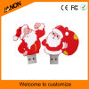 Vara do USB da movimentação do flash do USB do homem do Natal