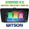 Automobile DVD del Android 6.0 di memoria di Witson otto per Skoda Octavia