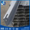 La viga de acero del carril C para el proyecto solar, caliente sumergida galvaniza