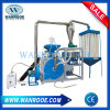 미소화 시스템을%s 가진 디스크 유형 비닐 피복 LDPE/PVC 분말 선반 기계