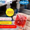 20g에 의하여 집중되는 세탁물 액체 세제, 4X 낮은 거품 향수 냄새 액체 세제