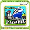 カスタマイズされたホーム装飾のギフトPVC冷却装置磁石の記念品パナマ(RC- PA)