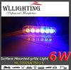 Illuminazione esterna del LED della polizia lineare sottile eccellente del modulo