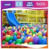 Corrediças grandes do campo de jogos interno das crianças do equipamento do jogo dos miúdos